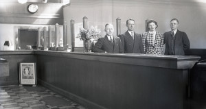 First Federal's officers and staff, 1940