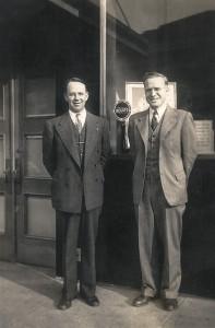 Harry DeVine and Perry Brackett, c1942